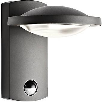 Philips Lighting Ledino 17239/93/16 LED outdoor wall light (+ motion detector) 3 W EEC: LED (A++ - E) Warm white Anthracite