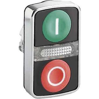 مزدوج الرأس pushbutton الأخضر، الأحمر شنايدر الكهربائية الوئام ZB4BW7A3741 1 pc(s)