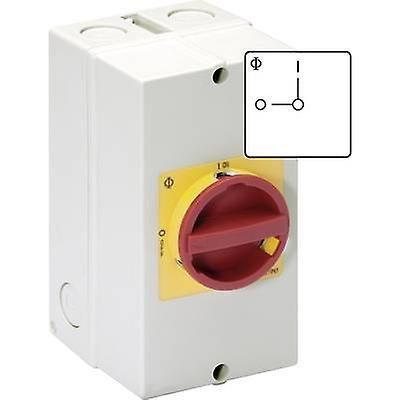 Kraus & Naimer KG64 T203 40 KL11V Disconnector Lockable 63 A 1 x 90 ° rouge, jaune 1 pc(s)