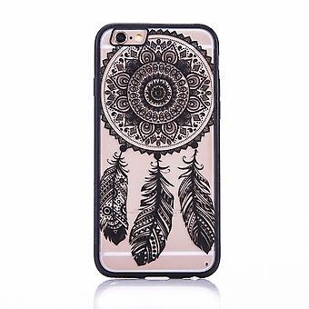 Mobile case mandala for Apple iPhone 7 design case cover design dream catcher cover bumper black