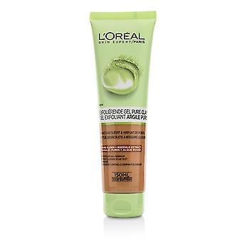 L'Oreal especialista em argila pura limpeza de pele - esfoliar & refinar - 150ml/5oz