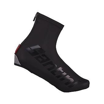 Santini Black Wall Aero Cycling Overshoe