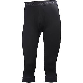 Helly Hansen HH Lifa Merino 3/4 Boot Top Pant - Black