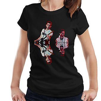 TV vezes Paul Simenon e t-shirt do Joe Strummer as mulheres Clash