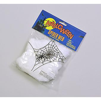 Bnov Spider Web Wool/Plastic Spider