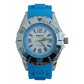 Waooh - Montre KY-44 SILVER