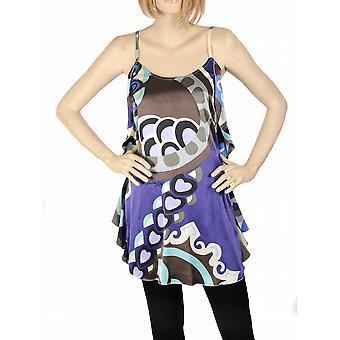 Waooh - Mode - Petite robe mauve en soie design cœur
