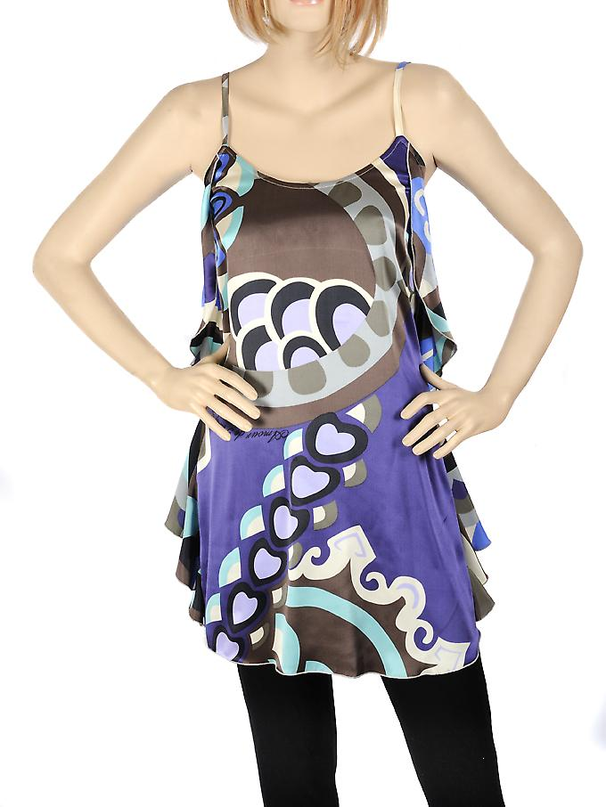 Waooh - Fashion - Petite Kleid Purple Heart Entwurf Seide
