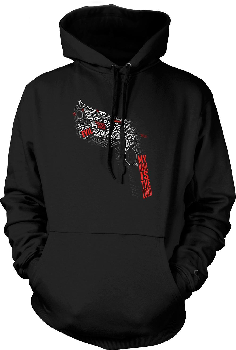 Mens Hoodie - Pulp Fiction - Citations - Gun Forme