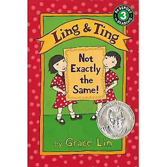 Ling & Ting: Not Exactly the Same! (Passport to Reading - Level 3