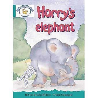 L'alphabétisation Edition Storyworlds étape 6, monde Animal, éléphant de Harry