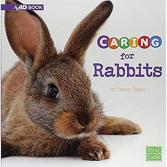 Caring for Rabbits: A 4D Book (Expert Pet Care)