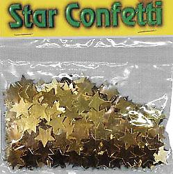 Confetti Large Gold Stars bag of 84g