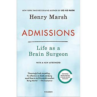 Admissions: La vie comme un chirurgien du cerveau
