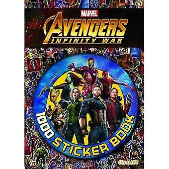 Avengers Infinity War - 1000 Sticker Book