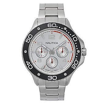 Nautica Analogueico Watch quartz men with stainless steel strap NAPP25005