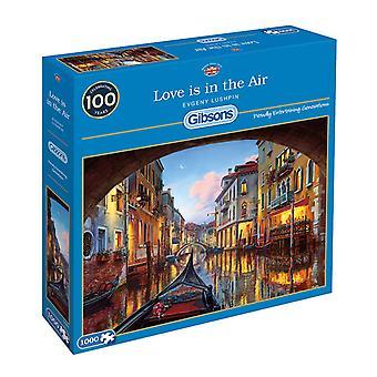 Гибсонсе любовь находится в воздухе головоломки (1000 шт)
