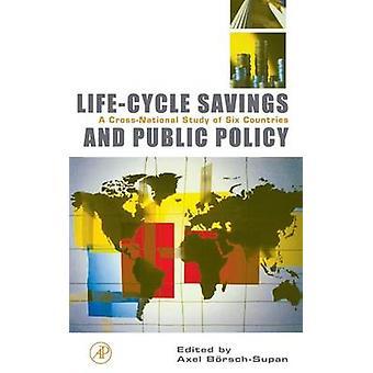 LifeCycle besparingar och offentlig politik A CrossNational studie av sex länder BoerschSupan & Axel