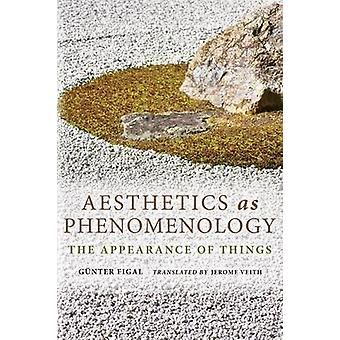 Aesthetics as Phenomenology The Appearance of Things by Figal & Gunter