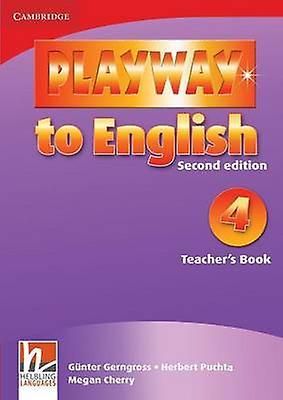 Playway to English Teachers Book Book 4 by Gerngross & Gunter