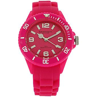 Cannibal Active Girl's Teens Pink Dial & Pink Rubber Strap  Watch CK215-15