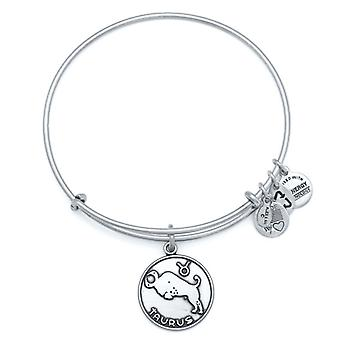 Alex en Ani Taurus Zilveren Bangle A13EB01TARS