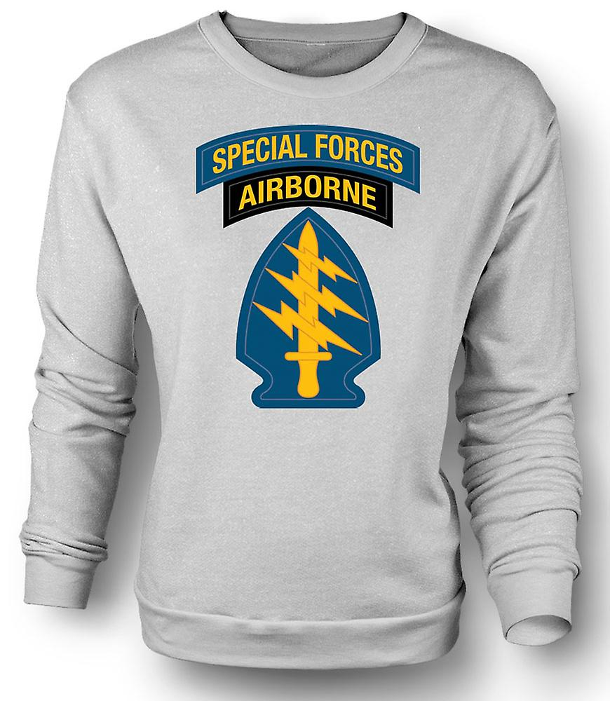 Mens Sweatshirt Green Beret Special Forces