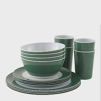 New Outwell Blossom 4 Person Picnic Set Dark Green