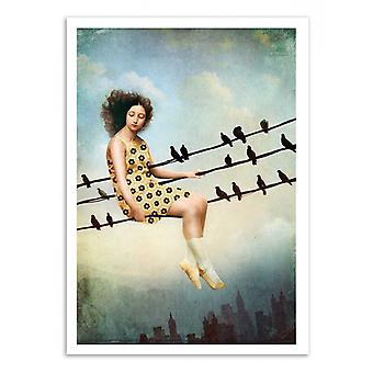 Konst-affisch-hangin där-Catrin Welz-Stein 50 x 70 cm