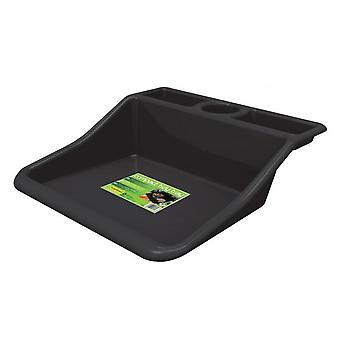 Compacte tuin tidy hobby Craft tray-zwart polypropyleen waterdicht
