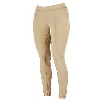 Dublin Performance Cool-it Gel Childs Riding Tights - Beige