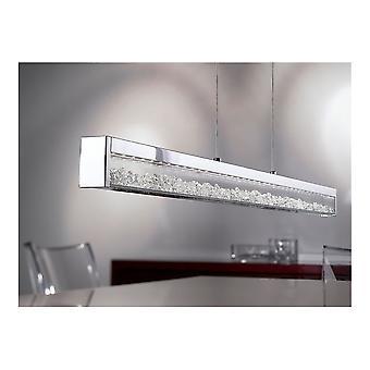 Eglo Cardito moderne krom LED Island Light med diamanter