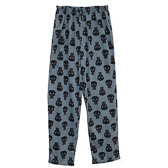 Punisher Logo Repeat Men's Pajama Pants