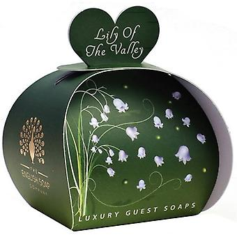 Lily of the Valley Guest Soaps in Gift Box 60g