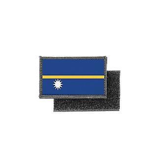 Patch ecusson imprime badge drapeau nauru
