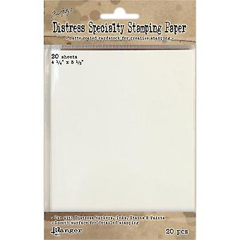 Distress Specialty Stamping Paper 4.25