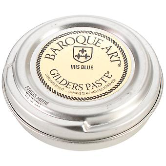 Baroque Art Gilders Paste 1.5 Ounces Iris Blue Gp Ib27