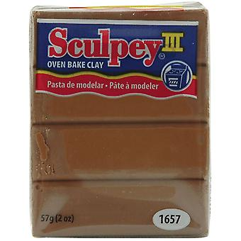 Sculpey Iii Polymer Clay 2 onces noisette S302 1657