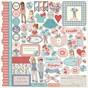 Julie Nutting Paper Dolls Stickers 12
