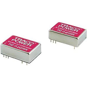 DC/DC converter (print) TracoPower 24 Vdc 5.1 Vdc 3 A 15 W No. of outputs: 1 x