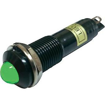 LED indicator light Green 12 Vdc Sedeco