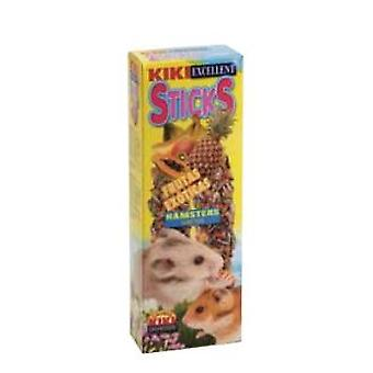 Kiki Hamster Exotic Fruit Bars Pack 2 Stück