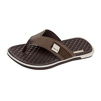 Rider Valencia Thong Mens Flip Flops / Sandals - Brown