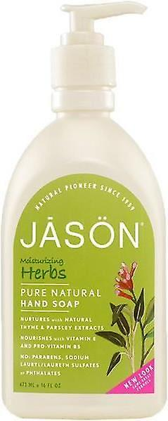 Jason Moisturizing Herbs Pure Natural Hand Soap