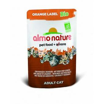 Almo nature Orange Label Bio With Veal and Vegetables (Cats , Cat Food , Wet Food)
