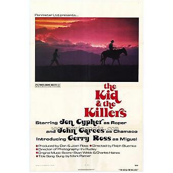 الطفل وطباعة ملصق فيلم القتلة (27 × 40)