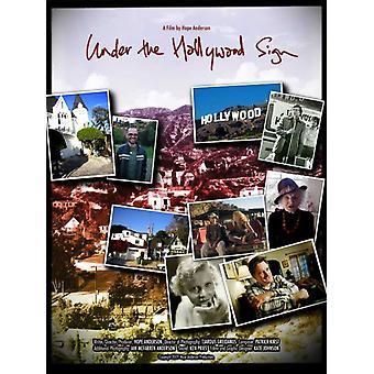 Under den Hollywood Sign film plakat ut (27 x 40)