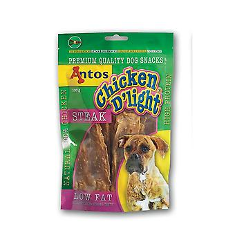 Antos kylling D'light bøf 100g (pakke med 10)