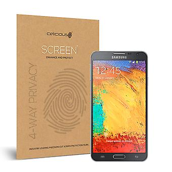 Celicious Privacy Plus Samsung Galaxy Note 3 Neo 4-Way Visual Black Out Screen Protector