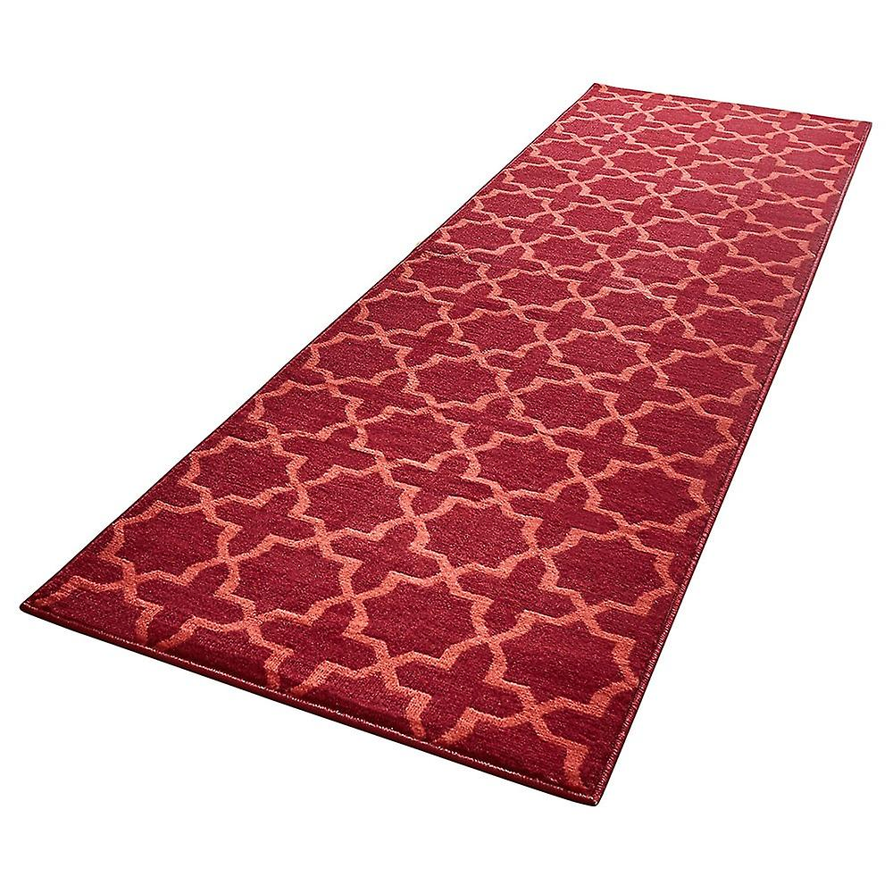 Conception velours tapis chemin pont rouge Grand